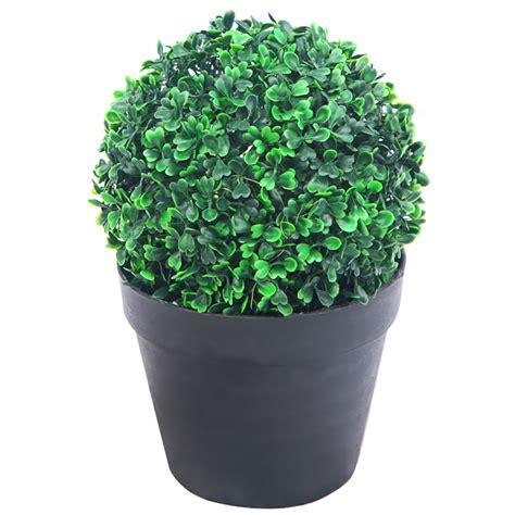 bosso in vaso bosso palla sfera buxus piante artificiale vaso per piante