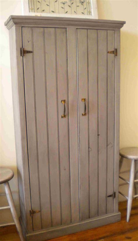 Furniture. Elegant Single Door Pantry Creates Good Looking