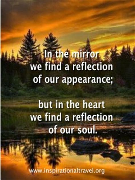 mirror reflection quotes quotesgram
