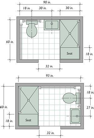 Bathroom Floor Plans Small by Best 20 Small Bathroom Layout Ideas On Tiny