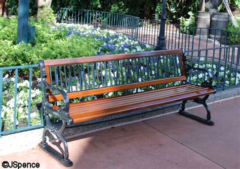 Walt Disney Bench by Turn Your Favorite Attractions Into Wdwmagic