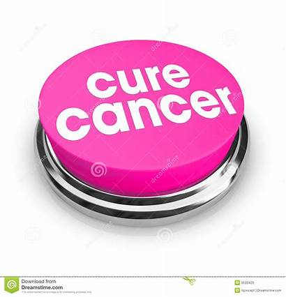 Cancer Cure Pink Button