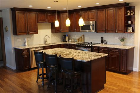 countertop for kitchen island turning a kitchen vision into a reality rta kitchen cabinets 5934