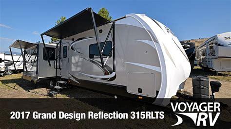 grand design trailers 2017 grand design reflection 315rlts travel trailer