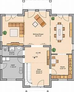 Grundriss Villa Modern : kern haus stadtvilla aurelio grundriss erdgeschoss house ~ Lizthompson.info Haus und Dekorationen