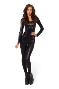 cat bodysuit look sleeve catsuit 2 0 black milk clothing