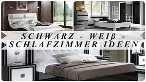 Schlafzimmer Ideen Weiß : schwarz wei schlafzimmer ideen youtube ~ Michelbontemps.com Haus und Dekorationen
