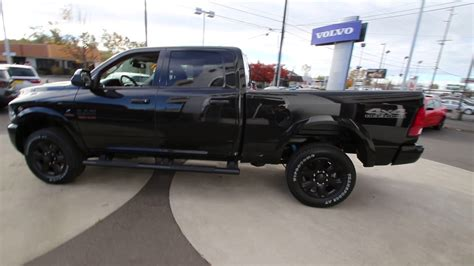 2017 Dodge Ram 2500 Big Horn   Brilliant Black   HG516485