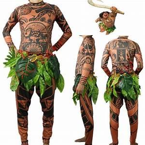 UK Stock Moana Maui Tattoo T Shirt Pants Mens Women ...