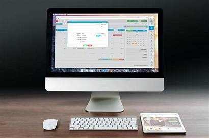 Computer Office Monitor Internet Desk Working Digital