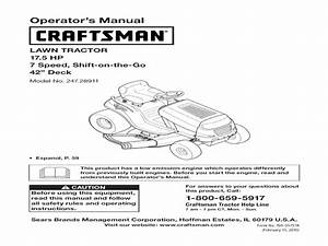 Sears Lawn Tractor Wiring Diagram