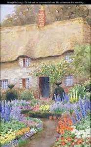 Cottage Garden Paintings
