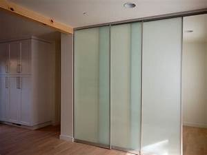 sliding interior glass door system - Contemporary