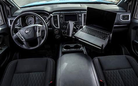 nissan titan xd interior habitat  fast lane truck