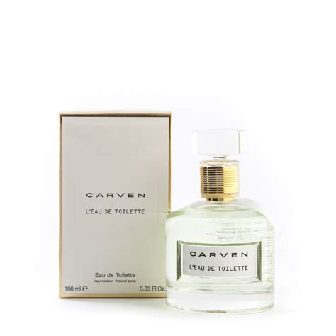 eau de toilette 100 ml carven carven