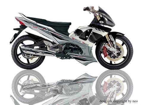 Modifikasi Motor Honda Supra by Modifikasi Motor Supra X 125