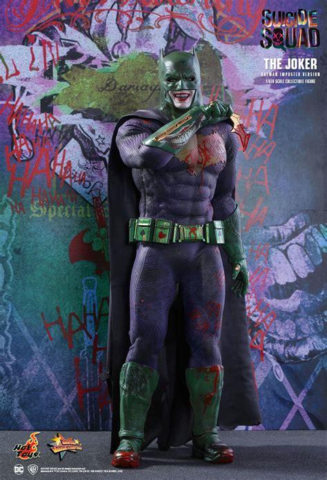 hot toys suicide squad  joker batman imposter