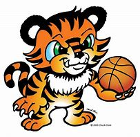 Image result for baby tiger basketball clip art
