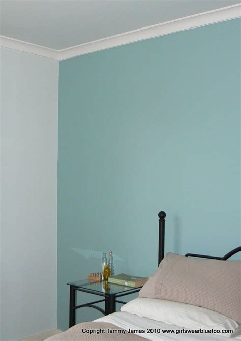 Bedroom Walls Painted Blue by After Dulux Duck Egg Blue Bedroom In 2019 Blue