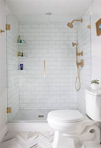 25 decor ideas that make small bathrooms feel bigger With small bathroom designs with bath and shower