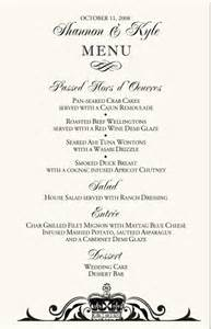 wedding ceremony programs wedding menu cards vintage monogram menu cards special