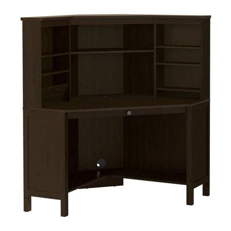 ikea corner desk instructions hemnes corner workstation black brown