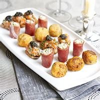 easy canapes to in advance how to plan your menu food