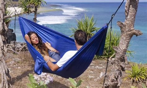 2 person cing hammock portable two person hammock groupon goods