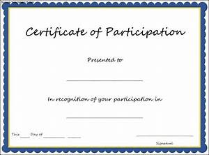 best 25 certificate of participation template ideas on With certificate of participation template pdf