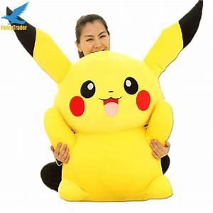 Fancytrader Large 120cm Super Stuffed Giant Pikachu Plush ...