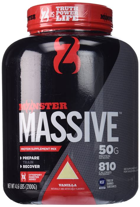 Amazon.com: Cytosport Monster Powder Protein Blend, Whey
