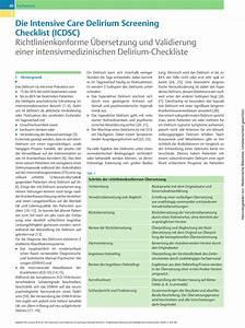 Ud835 Udde3 Ud835 Uddd7 Ud835 Uddd9  The Intensive Care Delirium Screening Checklist