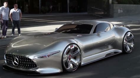 Mercedes Vision Gt Price by How Mercedes Made The Amg Vision Gt For A And Reality