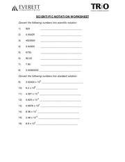 Scientific_notation_wksht - SCIENTIFIC NOTATION WORKSHEET