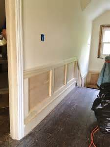 How To Install Chair Rail Molding by High Street Market 3rd Floor Diy Wainscoting And Trim Update