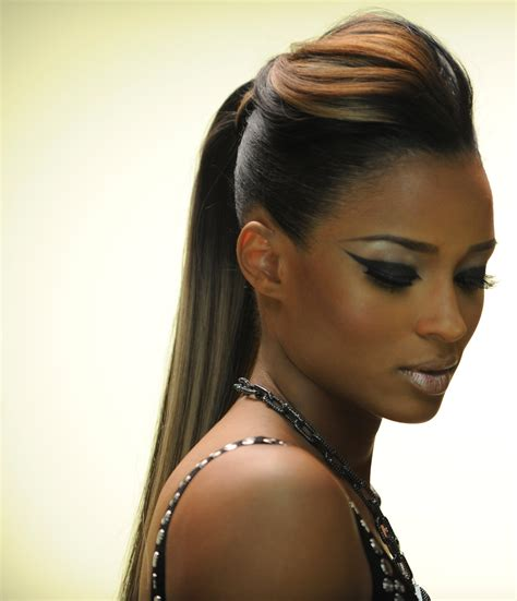 Black Ponytail Hairstyles by 15 Best Of Black Ponytail Updo Hairstyles