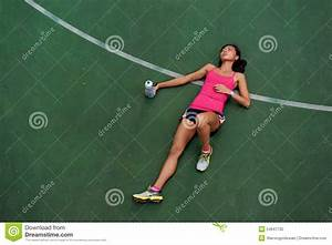 Tired runner stock photo. Image of down, outdoors, relax ...