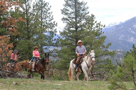 riding colorado park estes horse horseback sombrero schedule ride trails western lake grand