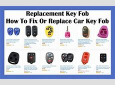 How To Fix Replace & Program Car Key Fob Replacement Key