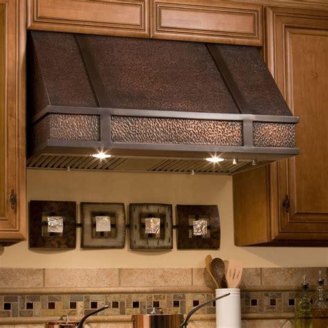 Under Kitchen Cabinet Lighting Ideas - 30 quot limoges series copper wall mount range hood kitchen