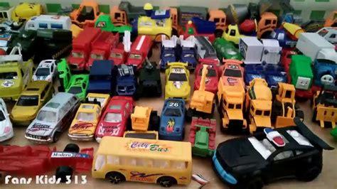 vidio untuk anak i koleksi mainan mobil mobilan keren