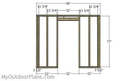 portable 6x8 saltbox shed plans myoutdoorplans free