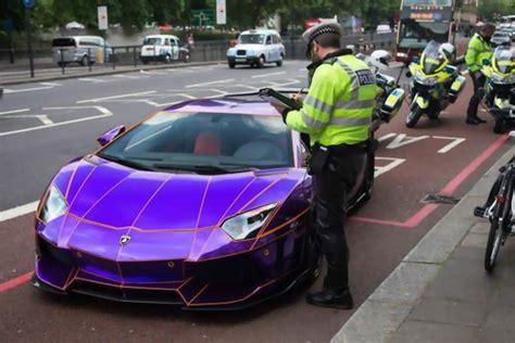 lamborghini dark purple a 450 000 purple lamborghini aventador could be destroyed