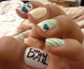 pretty nail designs farry island nail