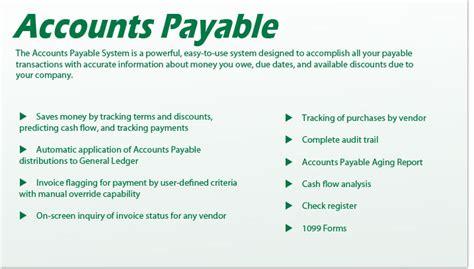 Accounts Payable Coordinator Description Uk by Receivables Payables Micronet System