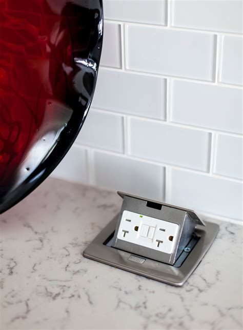 Pop Up Counter Top Outlet Kitchens Pinterest Counter