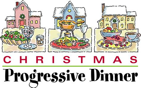 party plan christmas progressive dinner party parties2plan