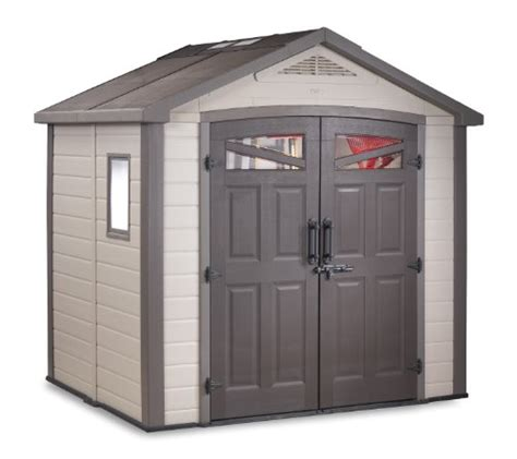 lifetime sheds keter 17190650 bellevue 8x6 storage building promo offer