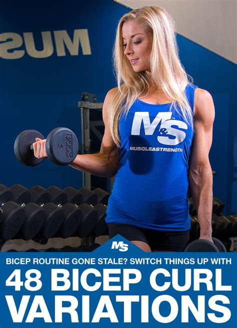 48 Different Ways To Do A Bicep Curl Biceps Workout
