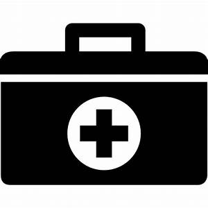First aid kit bag - Free medical icons